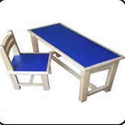 Kids Wooden Table Chair