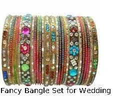 Fancy Bangle Set for Wedding