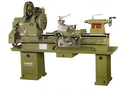 Cone Pulley Medium Duty Lathe Machine
