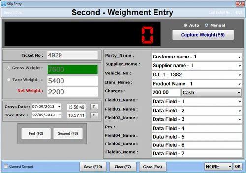 Weighbridge erawanna software vertexpi technology pvt. Ltd.