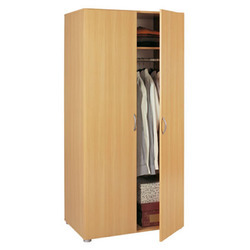 Wooden Two Door Wardrobe