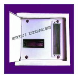 Single Door ABS Sayona Spn MCB Box, For Electric Fittings