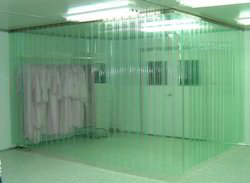 Clear PVC Strip Curtain