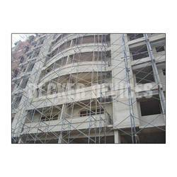 Hot Dipped Galvanized Blue Multistage Scaffolding Systems, For Building Construction