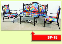 SF18 Wrought Iron Sofa Set