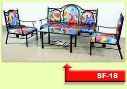 SF18 Wrought Iron Sofa Set