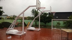 Portable and Adjustable Basketball hoops