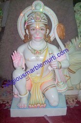 Marble Idols Hanuman Moorti