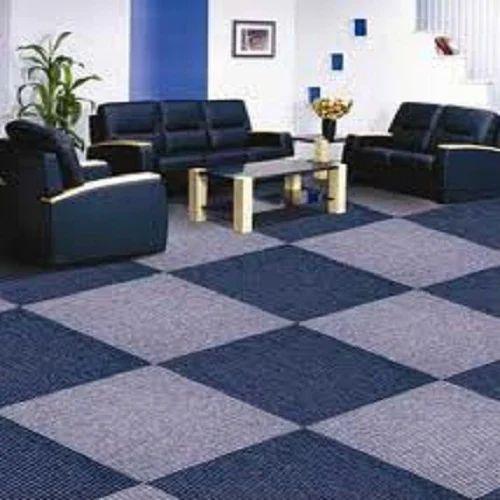 Office Carpet Tiles 2 X Feet Rs 50, Using Carpet Tiles Living Room