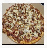 Chicken Crazy Pizza