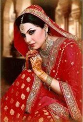Phulkari  Punjabi Bridal Dress