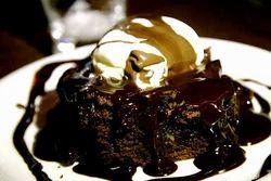 Chocolate Brownie With Ice Creame