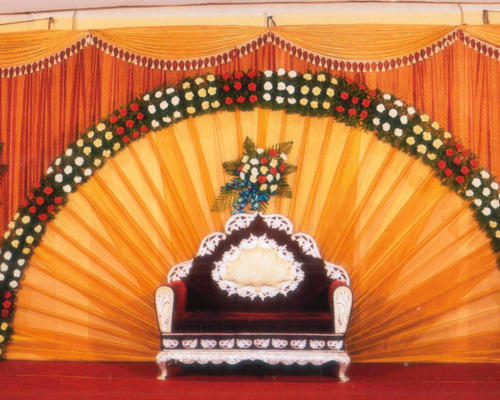 Stage Decoration In Coimbatore Ganapathi By No 1 Suvai Catering
