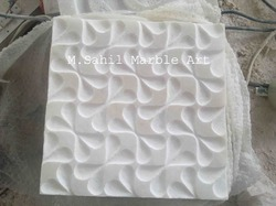 Antique Marble Wall Panel