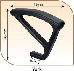 York Revolving Chair Handle