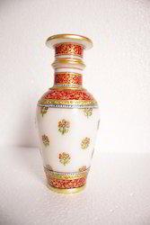 Vase with Gold Meenakari Work