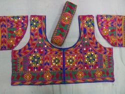 Embroidered Polyester Blouse