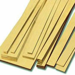Rectangle Brass Flat Bar