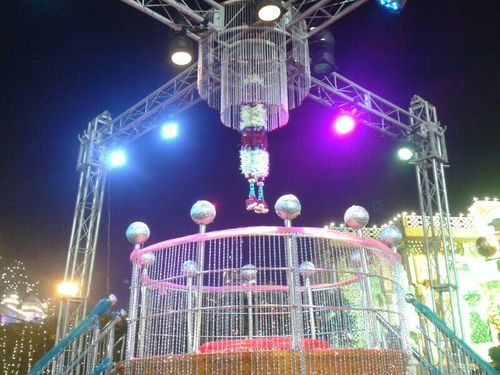Jaimala theme wedding decoration in south ganesh nagar new delhi jaimala theme wedding decoration junglespirit Images