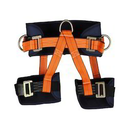 Adjustable Work Positioning Sit Harness With Paded Leg Strap