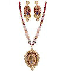 Ambika Exclusive Necklace Set , Ethnic Rajwada Necklace Set