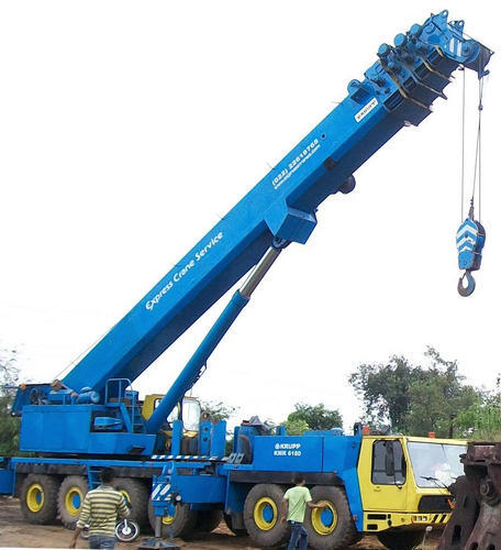 200 MT Telescopic Crane and Hitachi (Excavator) Real Estate