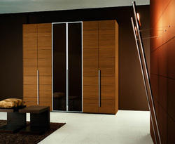 Brown Wooden Wardrobe, Warranty: 1 Year, For Residential