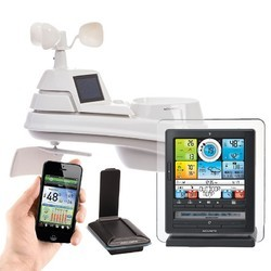 Pro 5-in-1 Color Weather Station with PC Connect, Wind