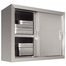 Stainless Steel Sliding Cupboard