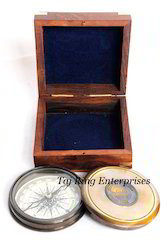 Pocket Compass with Box