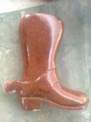 Red Foot Granite Stone Statue