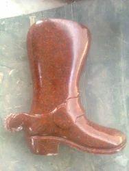 Red Foot Granite Stone Statue