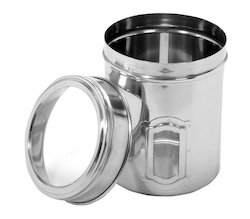 Stainless Steel See Through Canisters