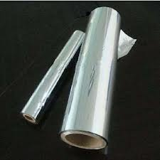 Silver Paper Raw Materials 100GSM