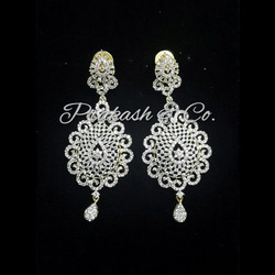 American Diamond Designer Earrings