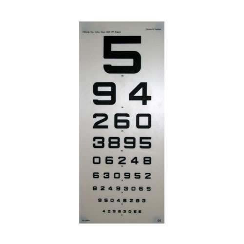 Vision Chart - Eye Chart Manufacturers & Suppliers in India