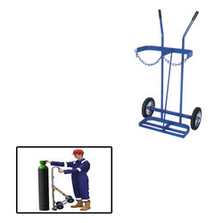 Cylinder Trolley for Pharmaceautical Industry