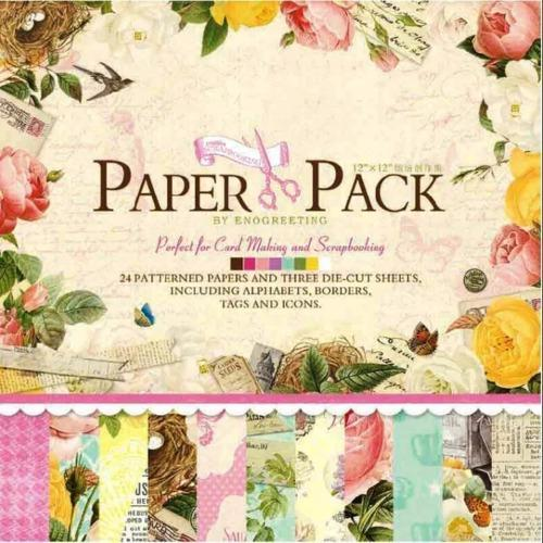 12x12 Scrapbook Paper Pack 24 Sheets F At Rs 150 Piece Masjid