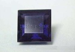 Iolte Faceted Square Gemstone