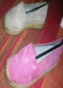 Suede Leather Espadrilles