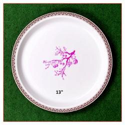 Plastic-Melamine Dinner Plate  sc 1 st  IndiaMART & Melamine Plate in Ahmedabad Gujarat | Manufacturers u0026 Suppliers of ...