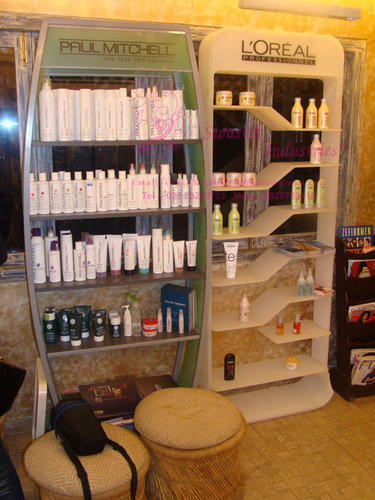 Cosmetic Products Display Stand For Salon At Rs 40 Unit Beauteous Salon Retail Display Stands