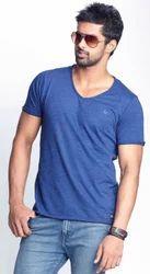 Men Cotton Fashion Casual T Shirt, Size: Small