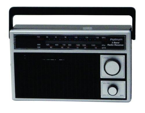 Oem  Unbranded Black 3 Band Radio Receiver  Rs 260   Piece