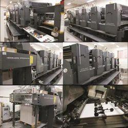 Heidelberg Speed Master Sm -102 - 4 Machine