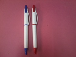 White Plastic Pen