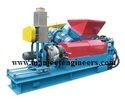 Plastic Extruder with Force Feeder