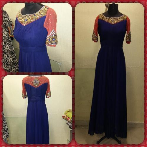 Designer Fancy Heavy Handwork Dress - Booti Designer Studio, Surat