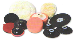 Polishing n Backing Pad - Rubber, PVC Wool for Shining Buff