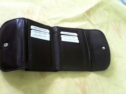 Black Brown and Tan Leather Wallets